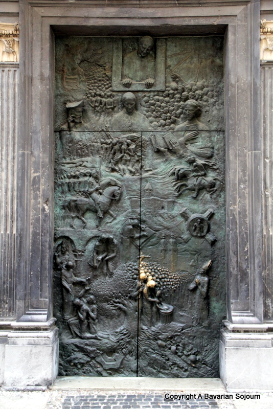 "st nicholas door (by ""flower alley"")"