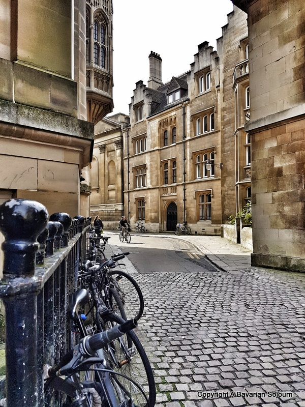 Sunday Photo – Quiet Cambridge Streets