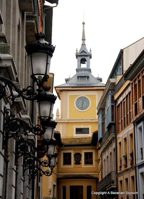 Oviedo in the Rain – Asturias