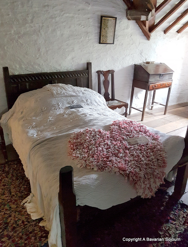 Main Bedroom Old Post Office Tintagel