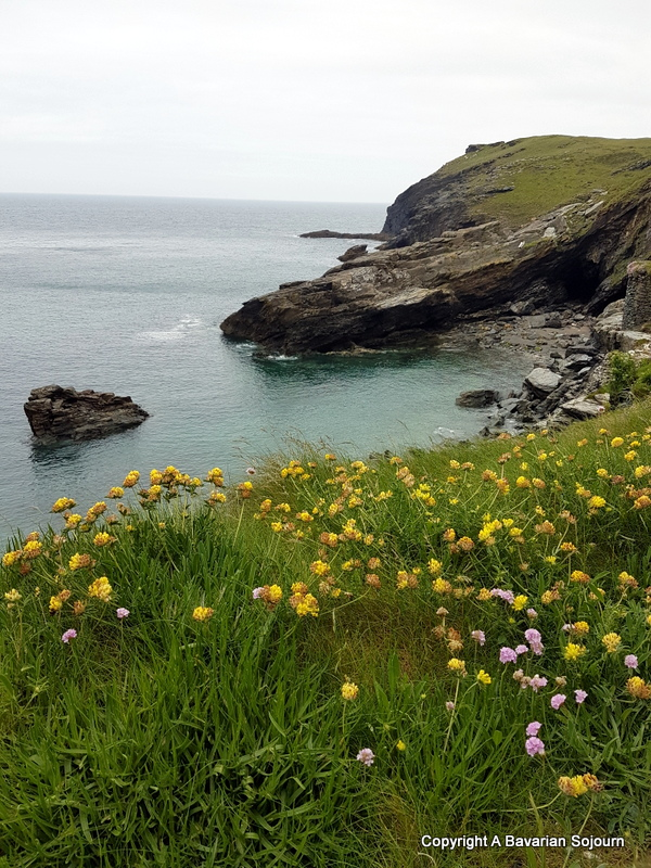 Tintagel Bay Cornwall