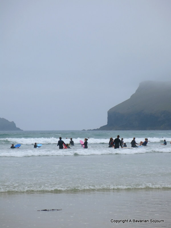 Surfing in the Mist