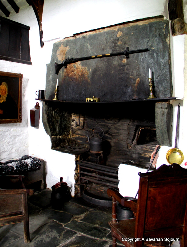 Gloam Fire Old Post Office Tintagel