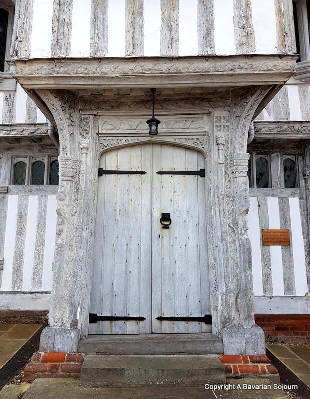 Lavenham Guildhall Front Door