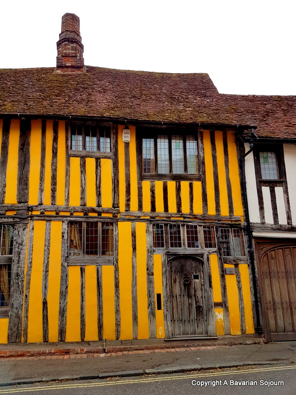 lavenham yellow house
