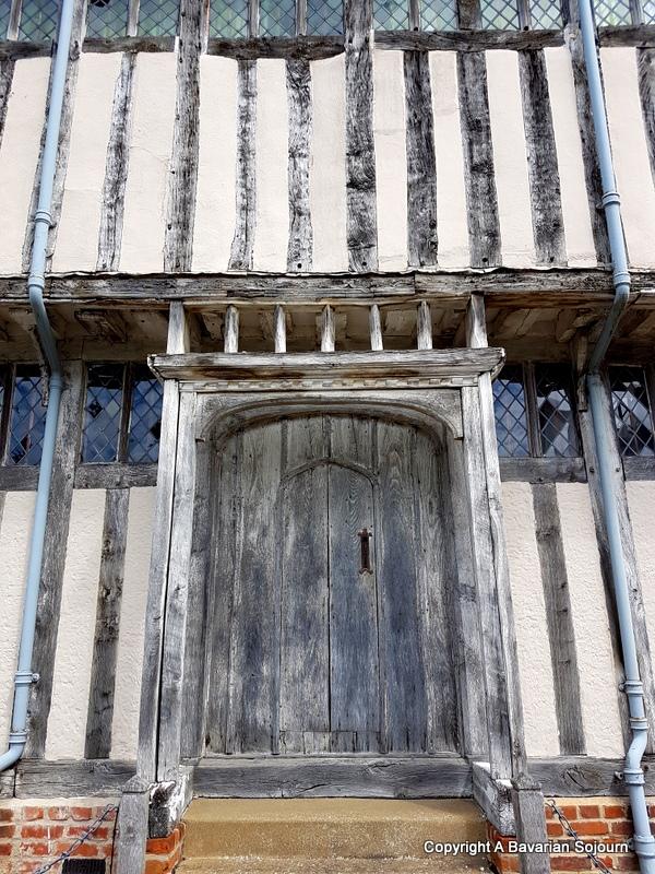 Shilling Street Door Lavenham
