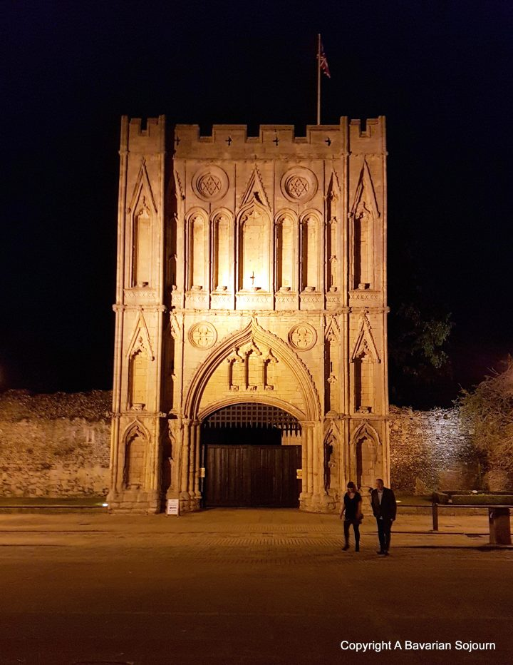 Abbey Gate by Night - Bury St Edmunds