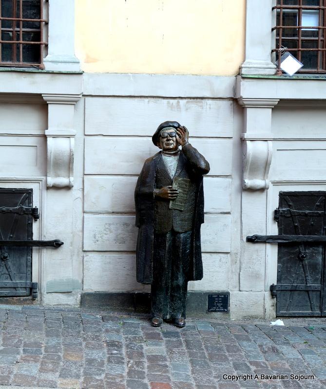 evert taube statue