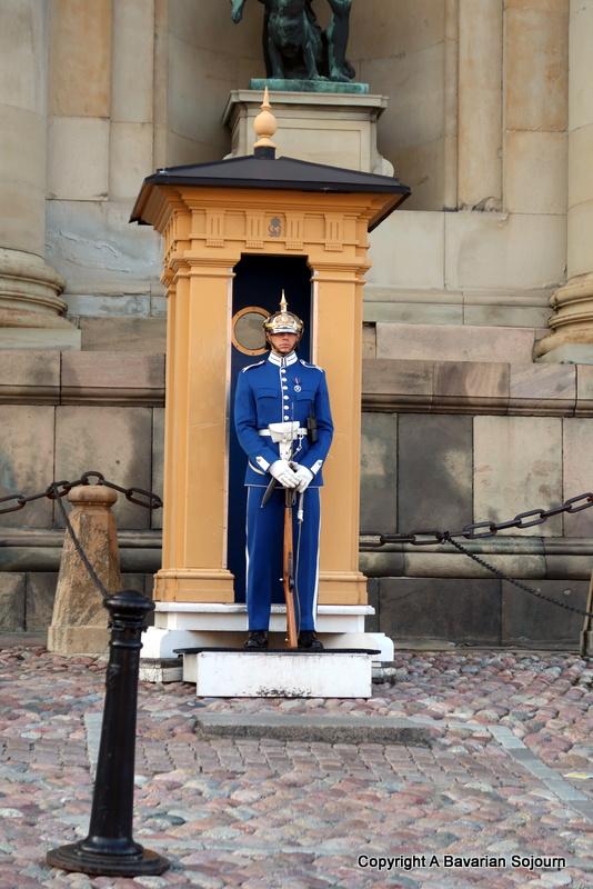 Palace Guard Gamla Stan