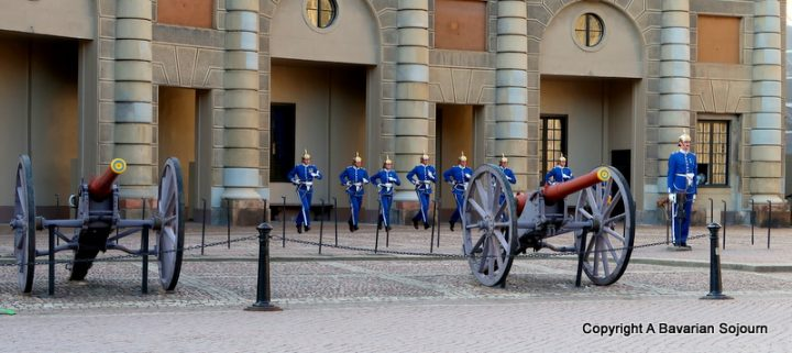 Gamla Stan Changing of the Guards