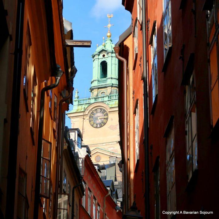 Looking up – Gamla Stan – Stockholm