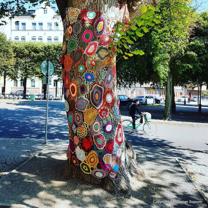 Sunday Photo – Knitted Tree