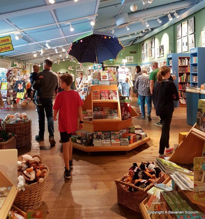 bookshop junibacken stockholm