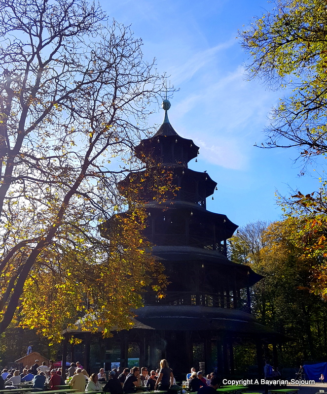Sunday Photo – Autumn Sun Munich