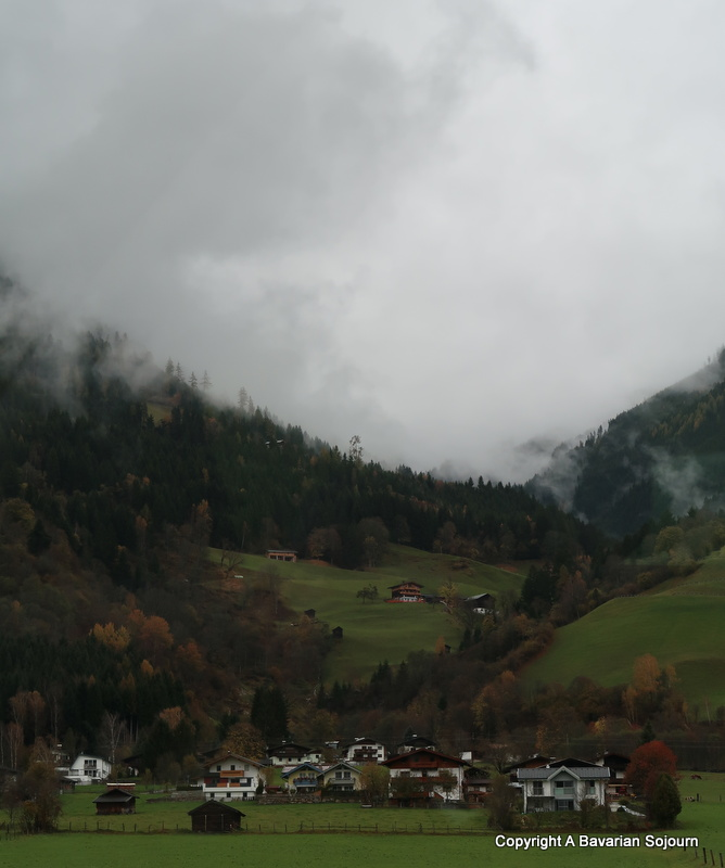 alpine scenery mittersill