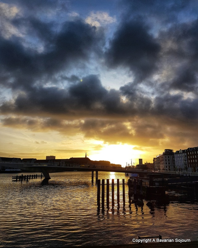 Things to do in Copenhagen with Kids, sunset
