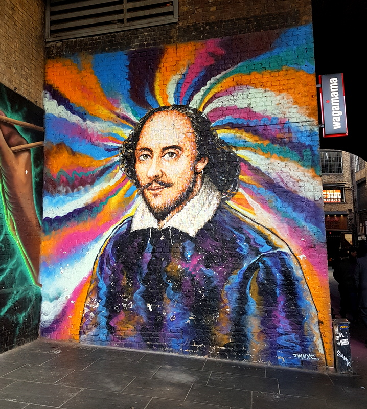 Shakespeare Graffiti