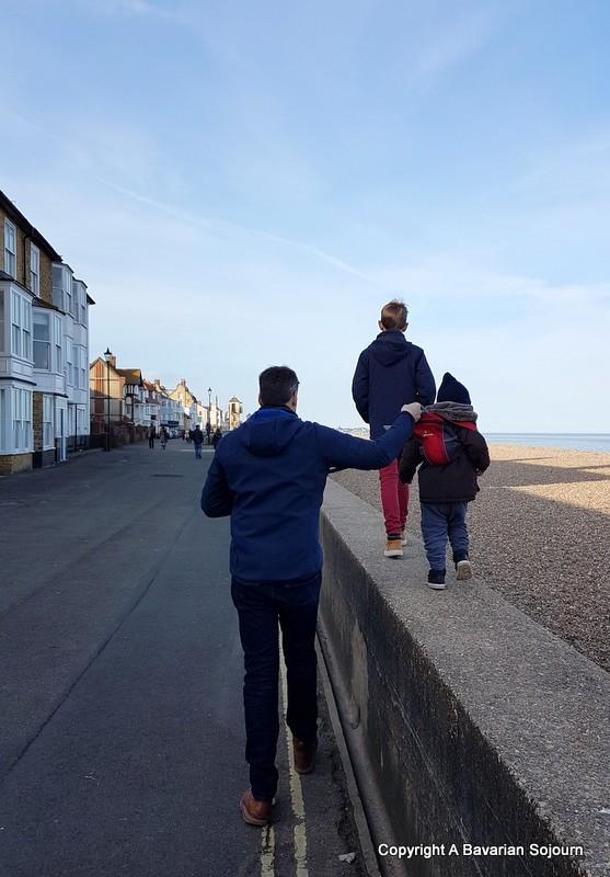 aldeburgh beach walk