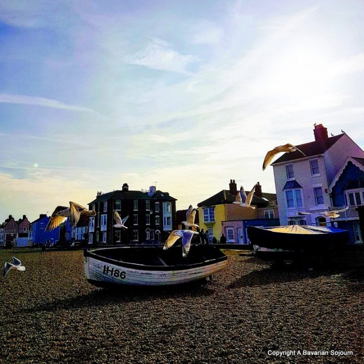 Aldeburgh Beach Suffolk