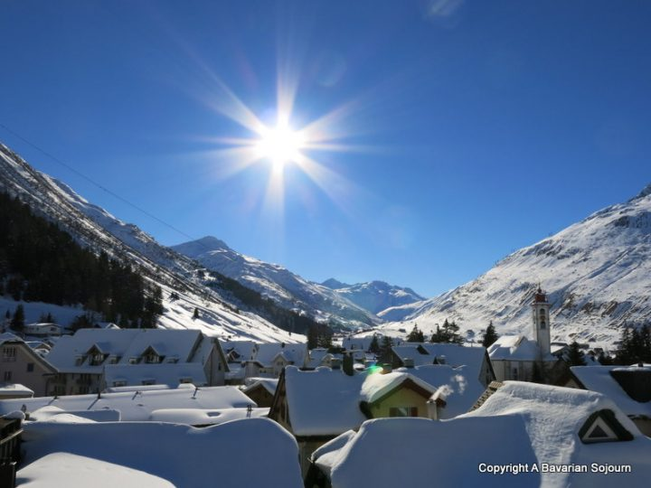 swiss scenery andermatt