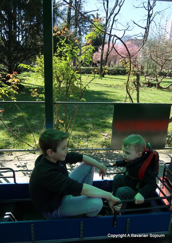 miniature train giardini pubblici milan
