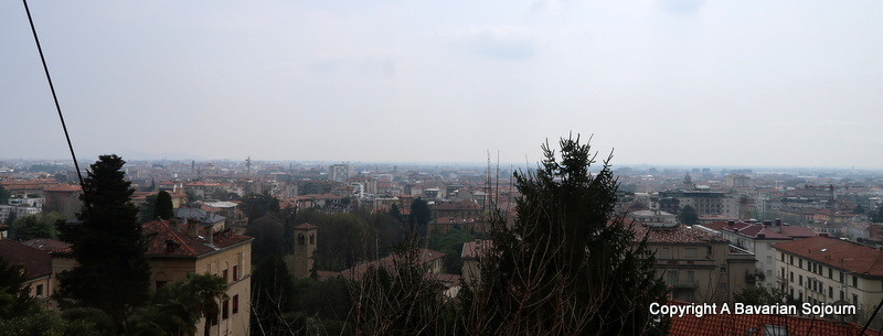 Funicular Views Bergamo