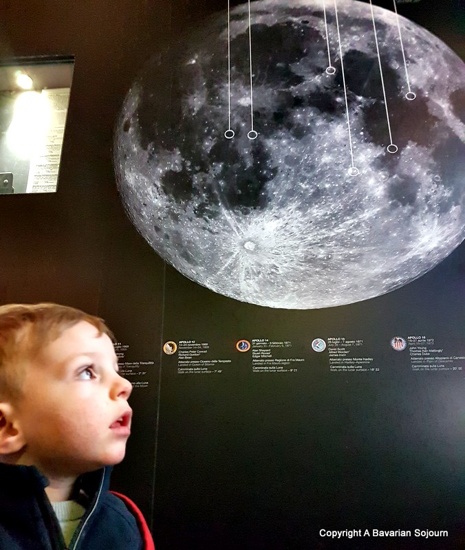 space boy - milan science museum
