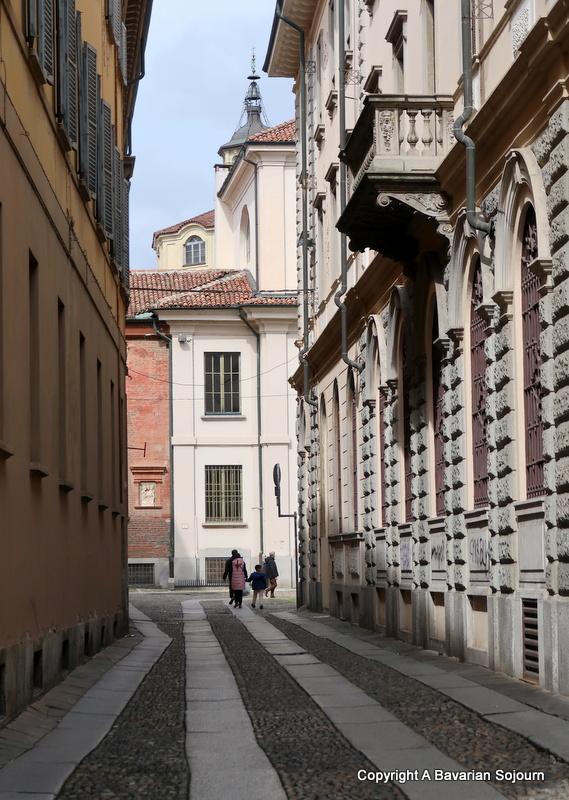 pavia streets