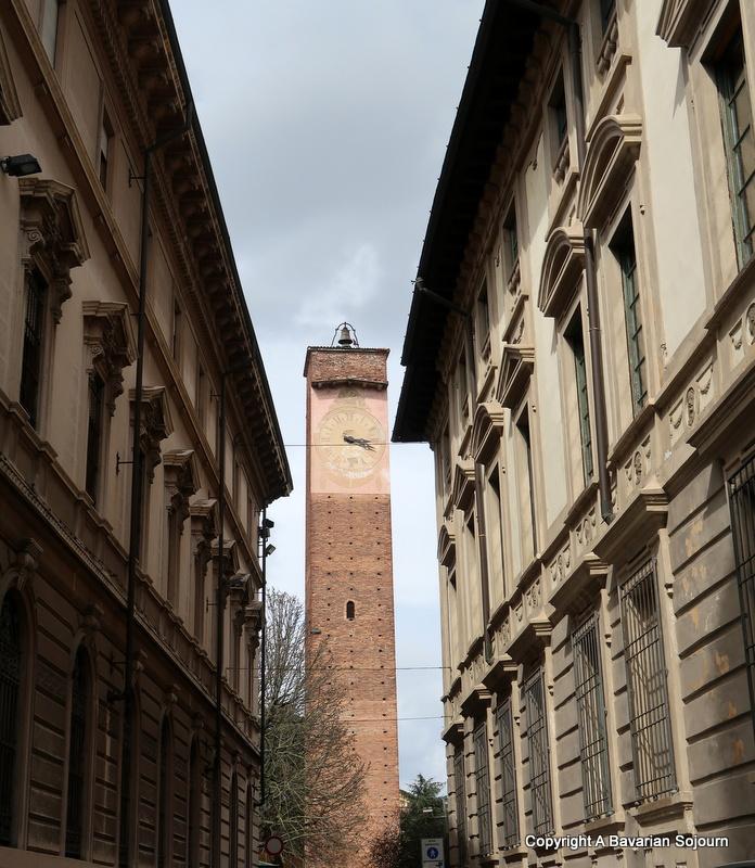 medieval towers pavia
