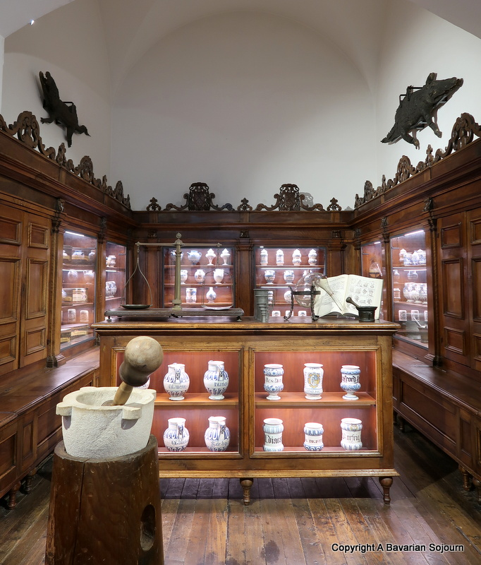ancient pharmacy milan science museum