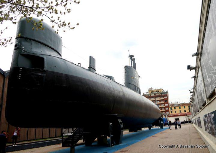 enrico toti submarine
