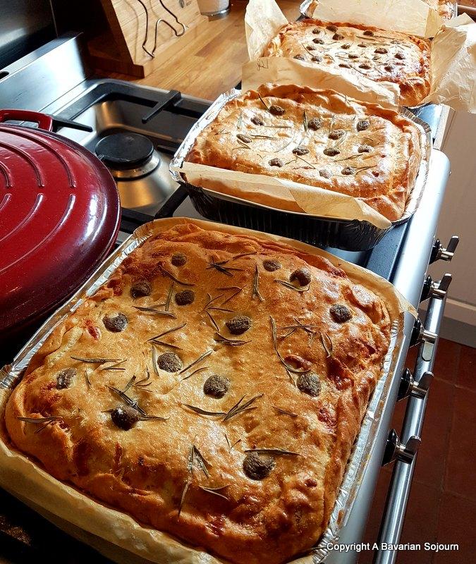 baked by romanos focaccia