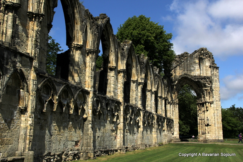 Ruins of St Mary's Abbey York