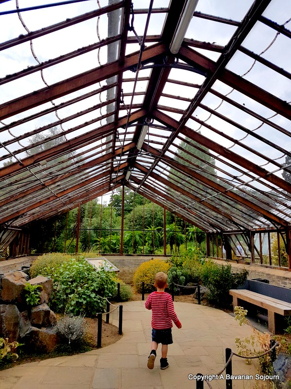 glasshouses botanical gardens cambridge