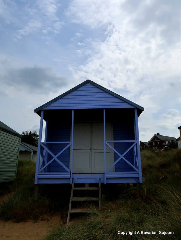 old hunstanton beach hut