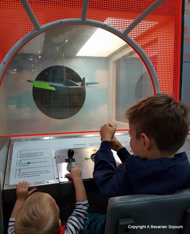 flight experimenting IWM Duxford