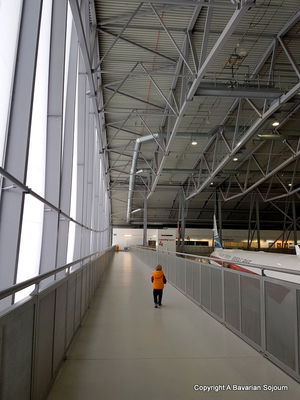 Air Space Hangar IWM Duxford