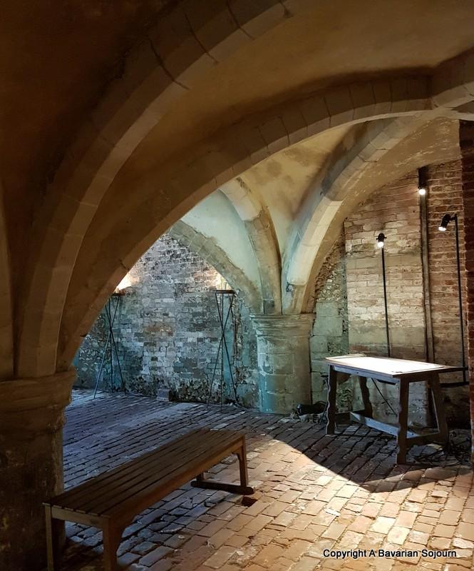 mottisfont's medieval cellar