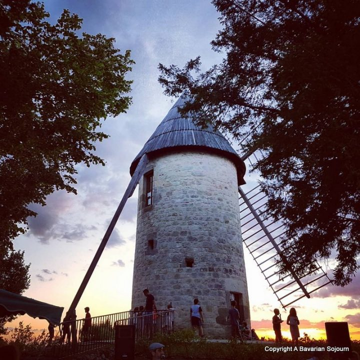 night market windmill
