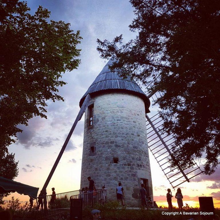 night market windmill