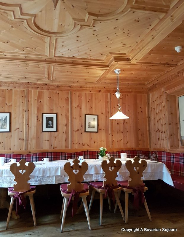 Zum Engel Dining room