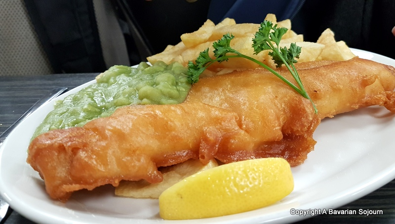 Yorkshire fisheries fish and chips
