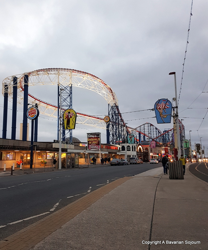 blackpool rollercoasters