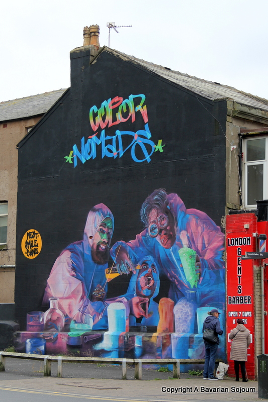 blackpool grafitti