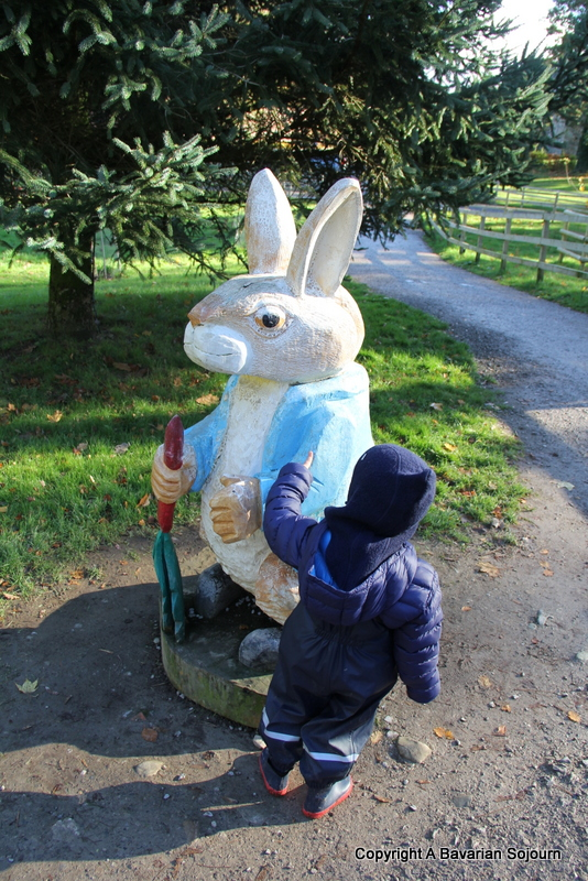 Peter Rabbit at Lingholm