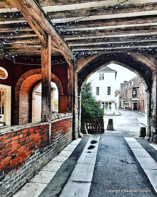 cathedral close winchester