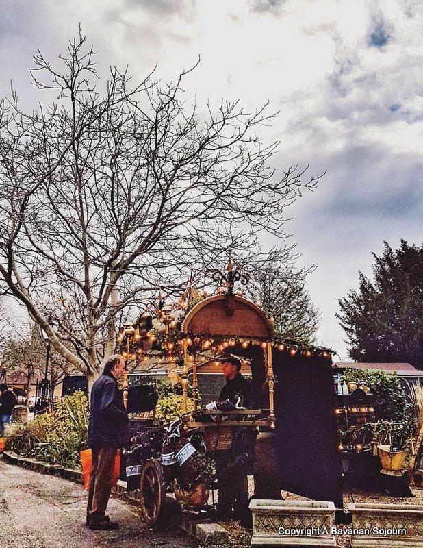Chestnut seller winchester christmas market
