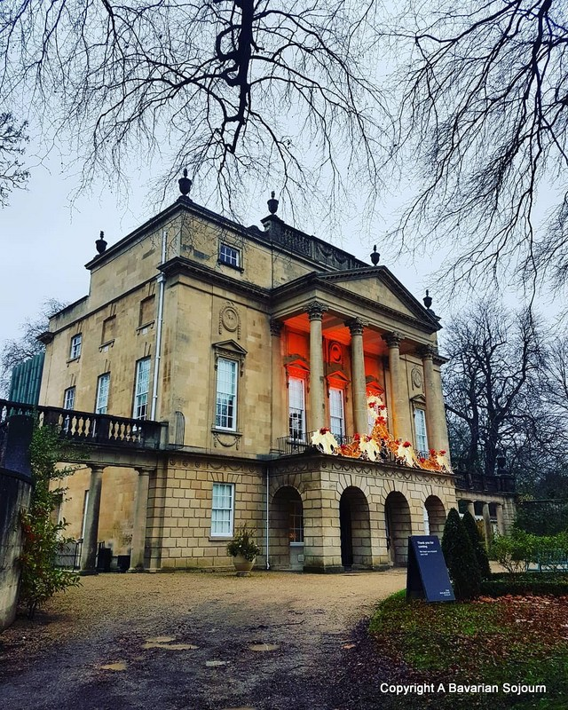 Holburne Museum Bath at Christmas