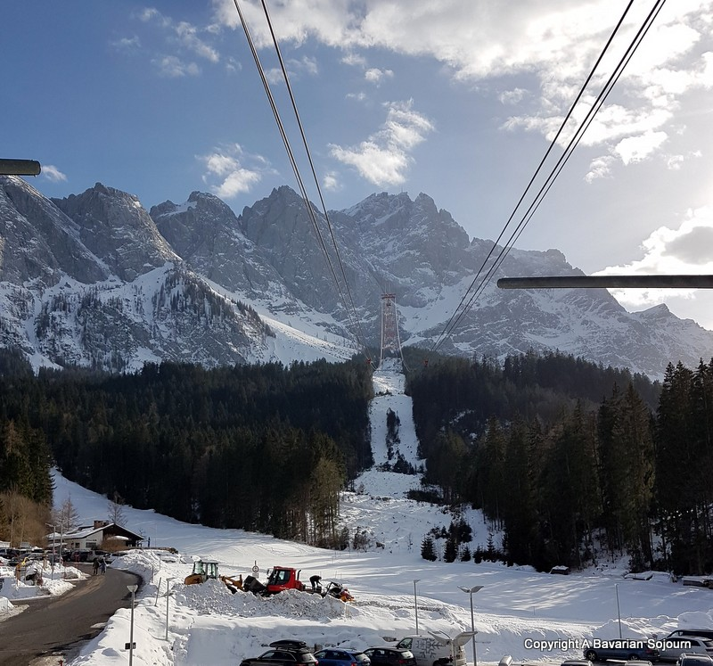 new cable car zugspitze