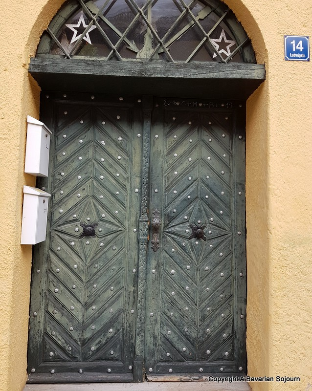 Partenkirchen Door